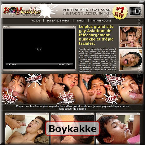 Screen capture of Boykakke (made 31/05/2011)